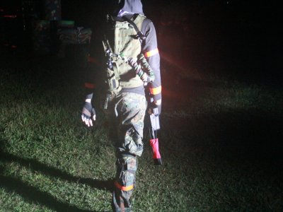 Night Paintball Package 100 Paintballs Ajusco