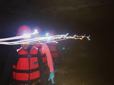 Espeleología + camping en cueva en Cuetzalan 2días