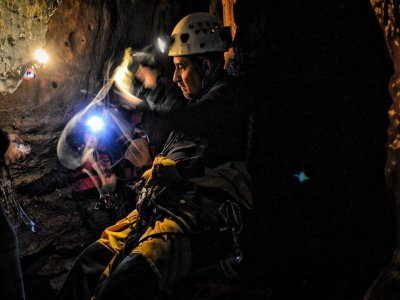 Caving and underground river in Cuetzalan 9 hrs