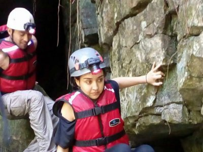 Espeleología + 2 descensos rappel en Cuetzalan 7hr