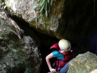Caving route + hiking route