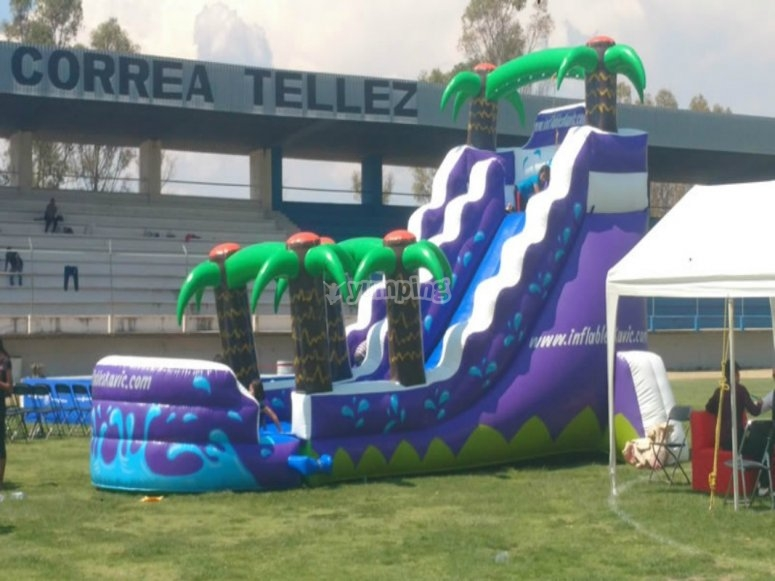 An inflatable structure