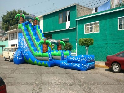 Inflatable rental