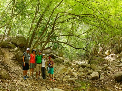 Ecotouristic hiking route in Cuale river