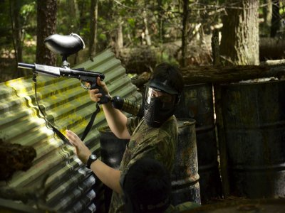 Paintball match for groups in Cabo San Lucas