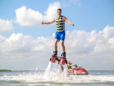 15 minutos de vuelo en Flyboard en Cancún