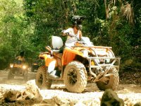 Total adventure on ATVs