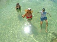 Arenal con el agua hasta la cintura en Xpicoben X