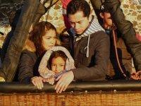 Vuelo en globo compartido para niños en Huamantla