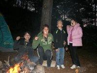 Chocolates and bonfire