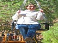 Zip-line swing