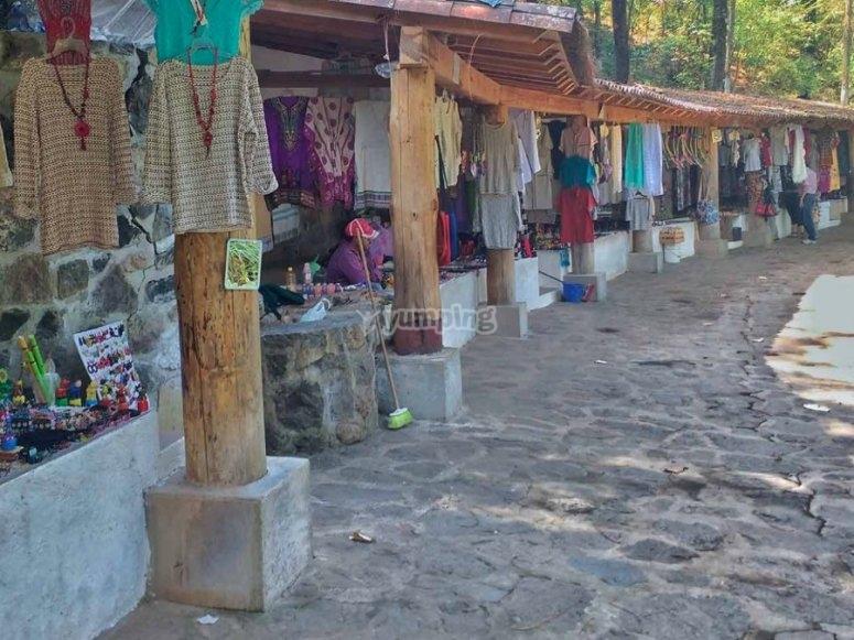 Mercado de Valle del Bravo.