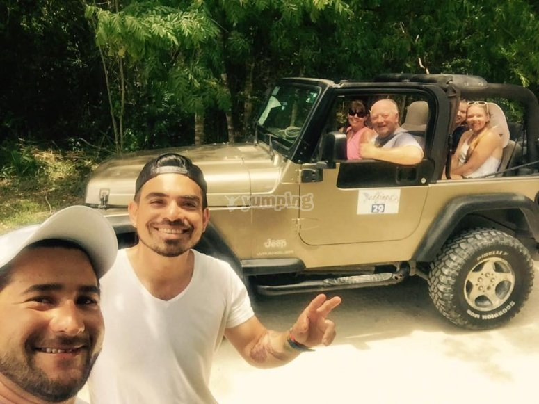 eric and youssef jeep riders