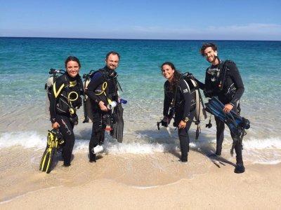 Shore Diving en Punta Arenas, Baja California Sur
