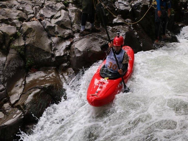 Down the Pescados river