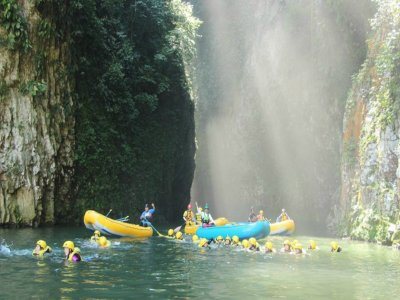 4h Whitewater Rafting in Pescados River, Veracruz