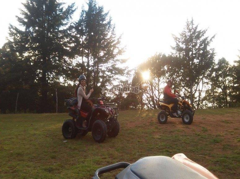 enjoy the ATVs