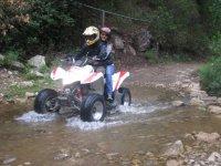 Quad route in Cascadas el Durazno