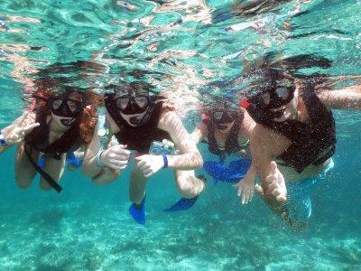 Tour Snorkel con Tortugas y Cenote Niños