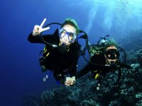 Diving introduction in the Caribbean Sea