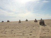 Por las dunas de Playa Migriño