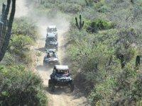 Desafía los caminos sinuosos a lo largo del desierto