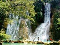 Waterfalls in the huasteca