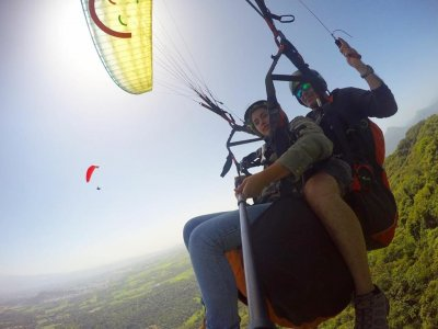 Paragliding Flight for Two in Puebla