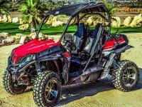 All-terrain vehicle ride