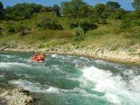 Rafting in the Huasteca