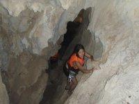 Climbing rocks