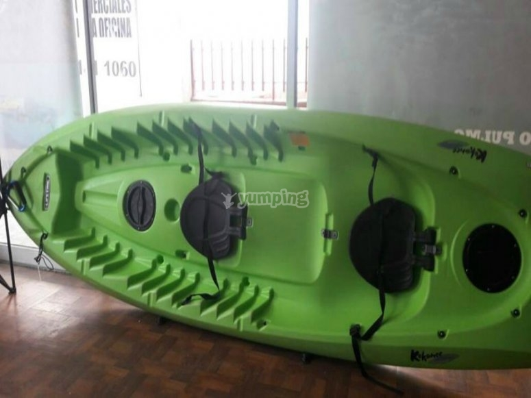 kayak verde