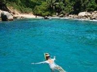 Snorkeling on the Isla de la Roqueta