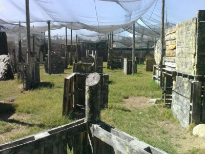 Paintball in Jardines del Valle 500 paintballs
