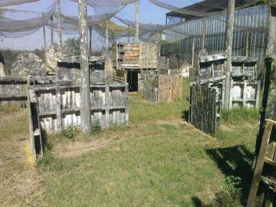 Gotcha en Jardines del Valle 375 cápsulas y equipo