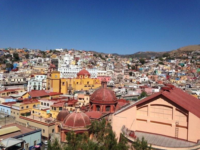 Guanajuato desde las alturas