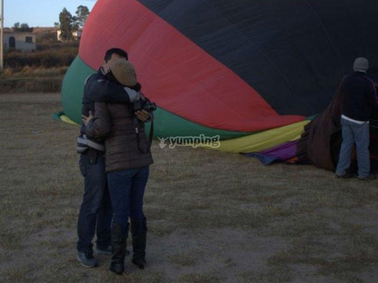 Vuelo en globo en Guanajuato para pareja