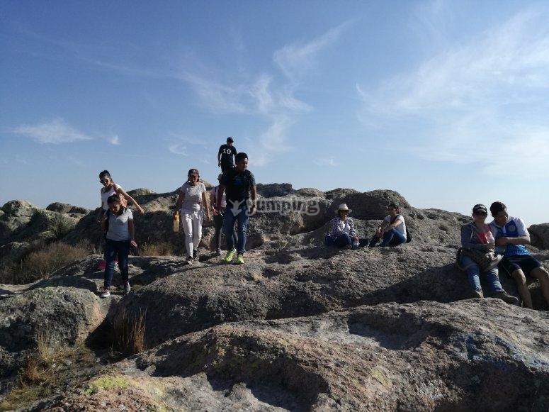 Practica senderismo en Guanajuato