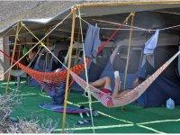 Campamento en Baja California Sur