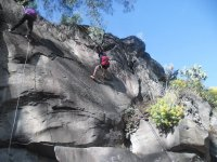 Rappelling in texcoco
