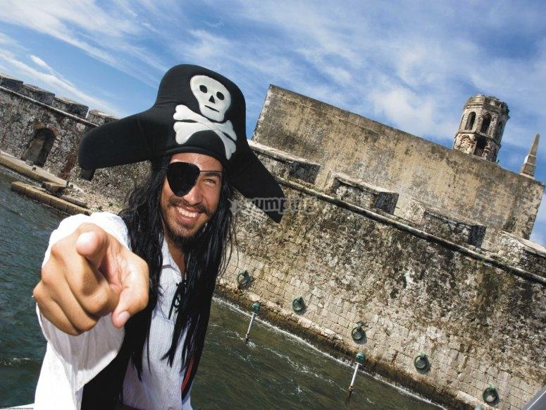 Nuestro pirata