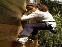 Climbing the scallod
