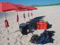 Equipment for the beach