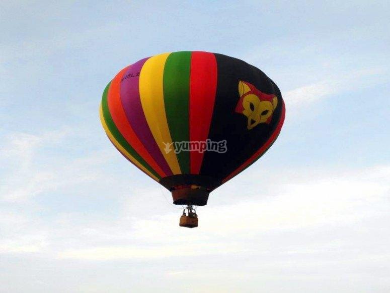 paseos en globo en guanajuato