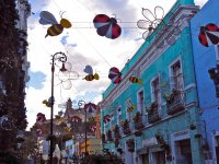 Colorful streets of Atlixco