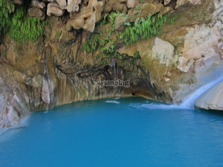 Blue ponds