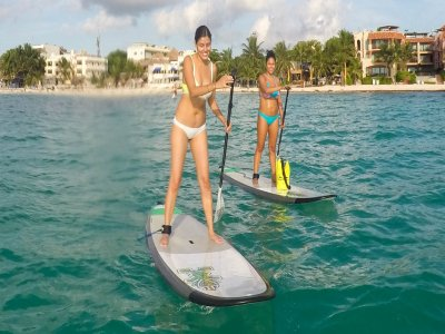 Private Tuition Paddle Surf in Quintana Roo