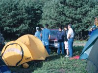 camps in the forest