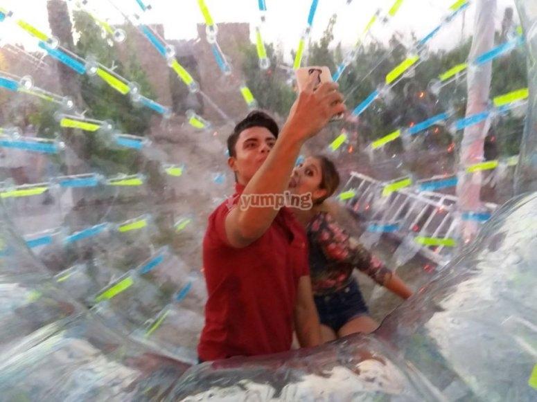 Fun in the sphere