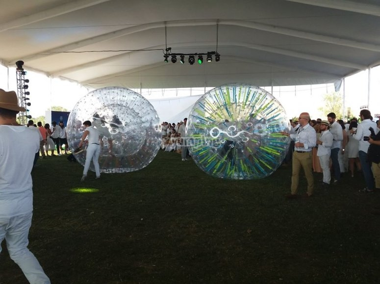 Spheres for parties